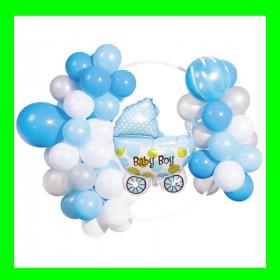 Girlanda balonowa-narodziny chłopca