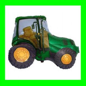 Balon włoski traktor zielony