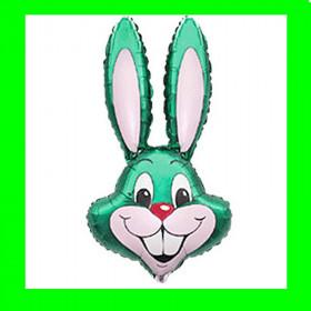 Balon włoski-królik zielony-30 cm