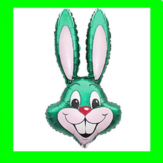Balon włoski-królik zielony