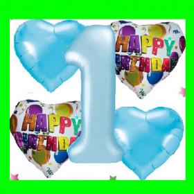Zestaw urodzinowy -1- niebieski