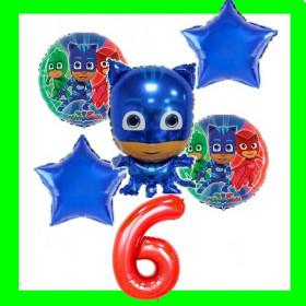 Zestaw urodzinowy-pidżamersi-niebieski