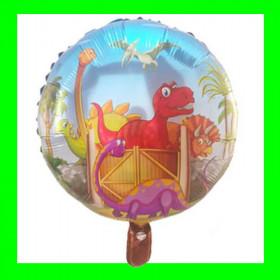 Balon dinozaury-kolorowe-45 cm