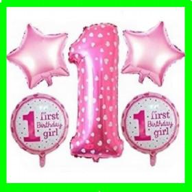 Zestaw urodzinowy-1-różowa w serduszka