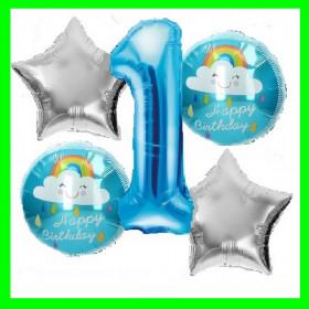 Zestaw urodzinowy -1-niebieska-chmurki