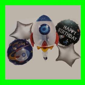 Zestaw urodzinowy-rakieta